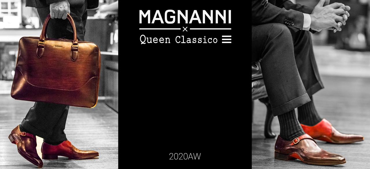 マグナーニ MAGNANNI クインクラシコ限定モデル 2020AW 秋冬 AUTUMN WINTER