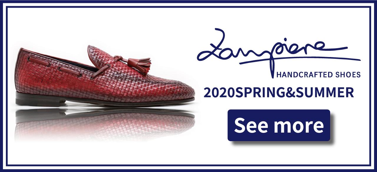 ザンピエレ ZAMPIERE 2020SS 春夏 SPRING SUMMER